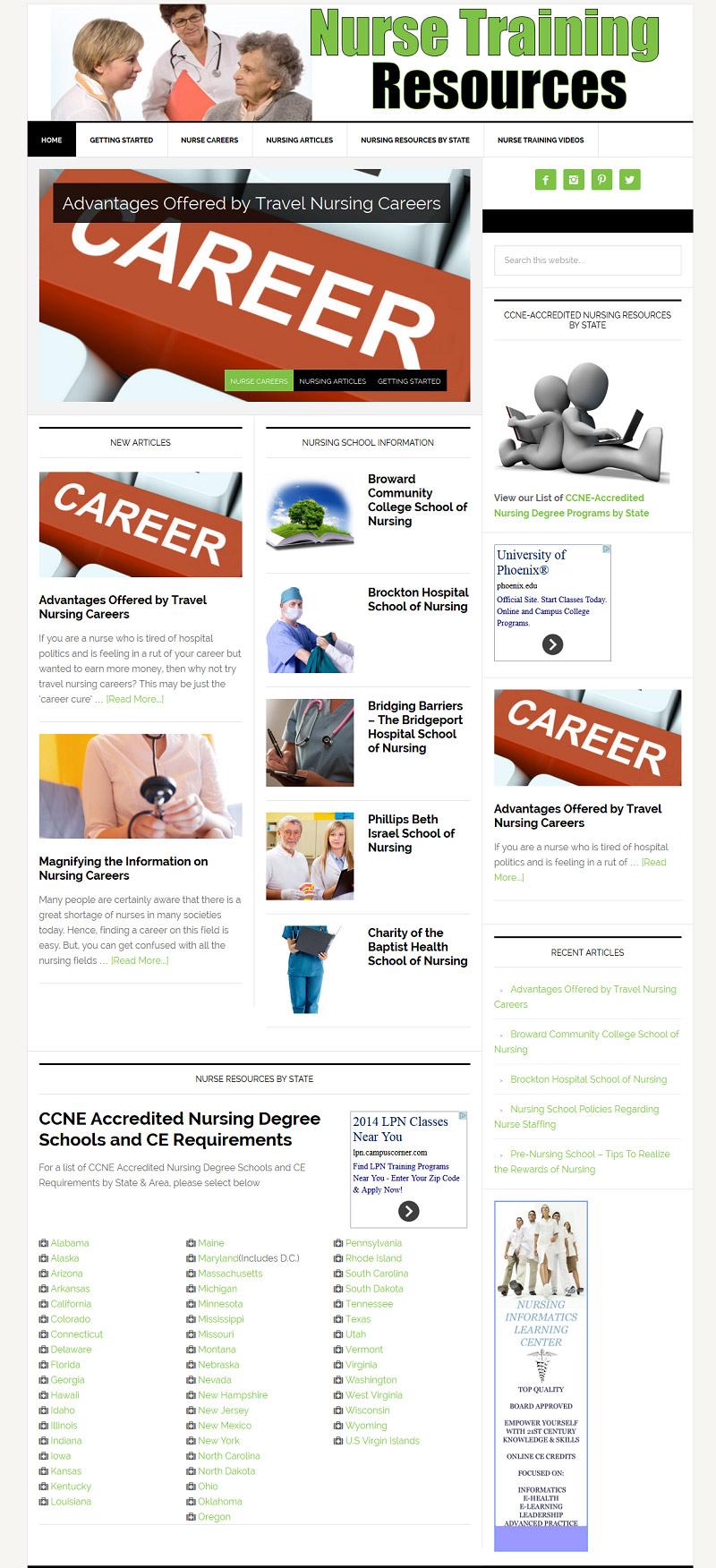 Nurse Training Resources.com